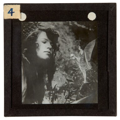 View 7. Thumbnail of Lot 72. [DOYLE, Sir A.C.] COTTINGLEY FAIRIES   Collection from M.T. Johnson, including 5 photographic plates, psychic spectacles.
