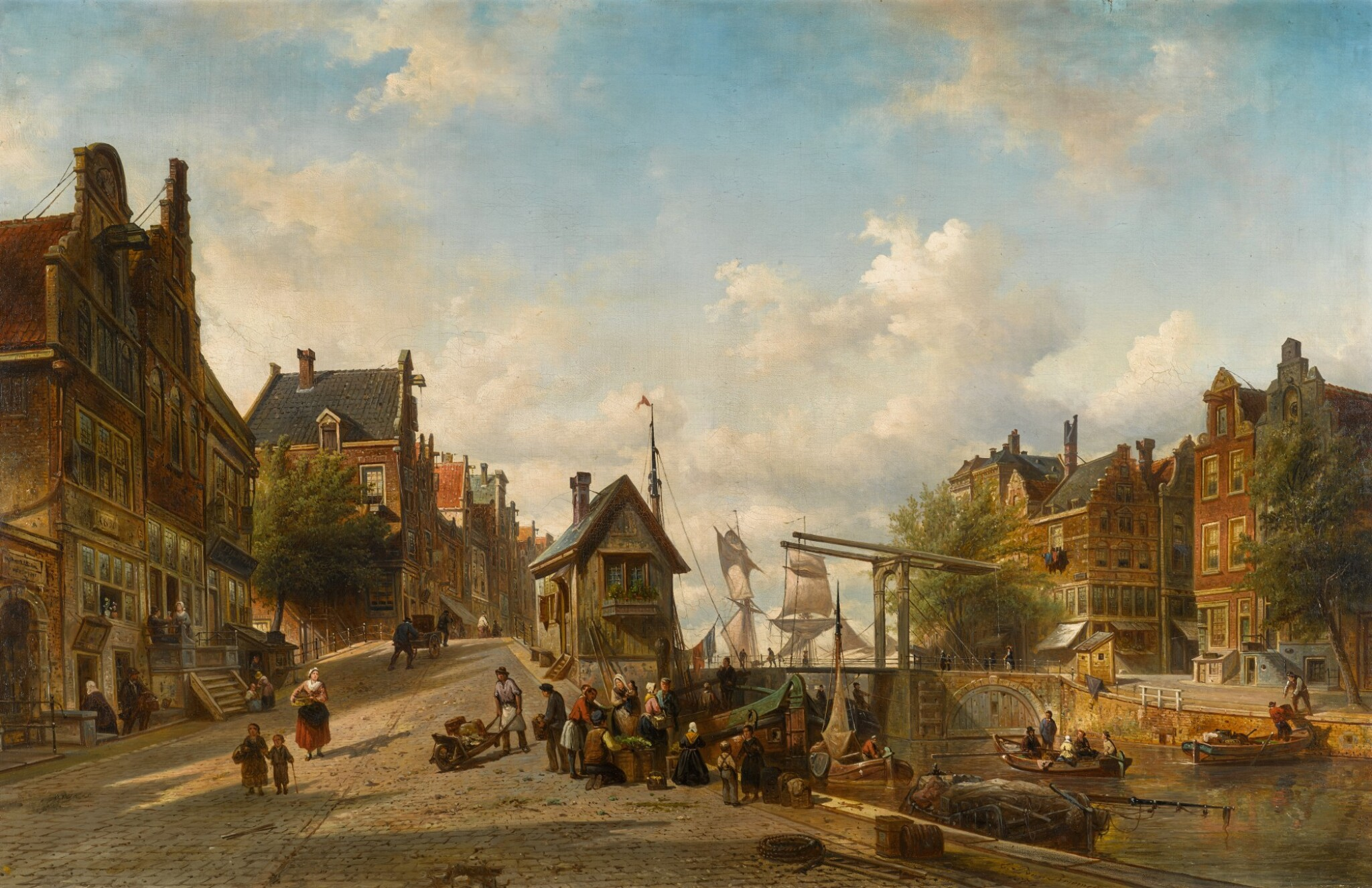 View 1 of Lot 89. The Singel and Brouwersgracht, Amsterdam.
