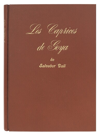 SALVADOR DALÍ | LES CAPRICES DE GOYA DE DALÍ (MICHLER & LÖPSINGER 848-927; FIELD PP. 111-116)