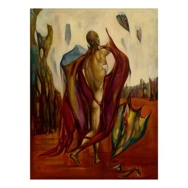 View 1. Thumbnail of Lot 32. LEON KELLY | THE MESSENGER (MAN WITH KITES).
