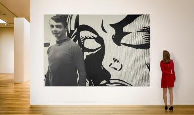 DENNIS HOPPER | ROY LICHTENSTEIN IN HIS STUDIO 1964