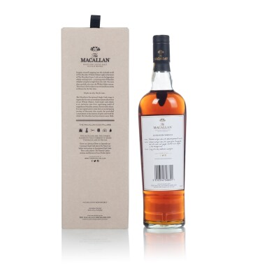 View 2. Thumbnail of Lot 50. The Macallan Exceptional Single Cask 2018/ASB-1683/13 53.4 abv 1950 (1 BT70).