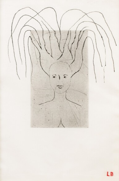 View 1. Thumbnail of Lot 547. LOUISE BOURGEOIS   FEMME.