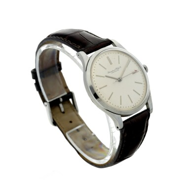 View 3. Thumbnail of Lot 84. IWC | A STAINLESS STEEL CENTER SECONDS WRISTWATCH, CIRCA 1975.