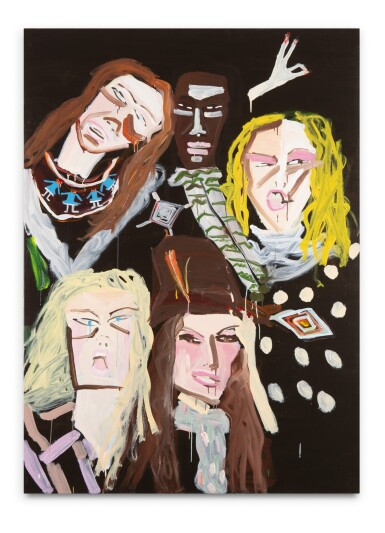 """View 2. Thumbnail of Lot 43. KATHERINE BERNHARDT 