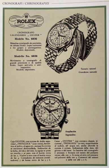 View 6. Thumbnail of Lot 18. 'JEAN-CLAUDE KILLY' DATO-COMPAX, REF 6236 STAINLESS STEEL TRIPLE CALENDAR CHRONOGRAPH WRISTWATCH CIRCA 1958 [勞力士6236型號「'JEAN-CLAUDE KILLY' DATO-COMPAX」精鋼全日曆計時腕錶,年份約1958].