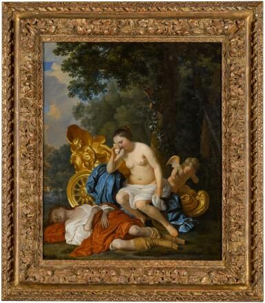 View 3. Thumbnail of Lot 28. JACOB VAN LOO  |  VENUS AND ADONIS.