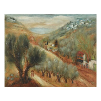 REUVEN RUBIN | SAFED IN GALILEE