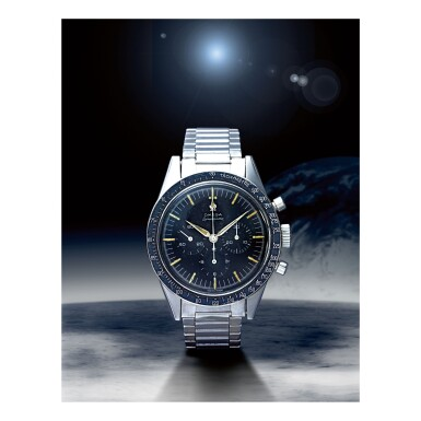 OMEGA |  SPEEDMASTER REF 105.002-62 'FAP', A STAINLESS STEEL CHRONOGRAPH WRISTWATCH WITH BRACELET, MADE IN 1963