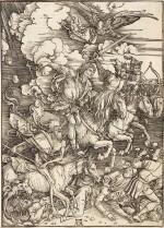 The Four Horsemen of the Apocalypse (B. 64; M., Holl. 167)