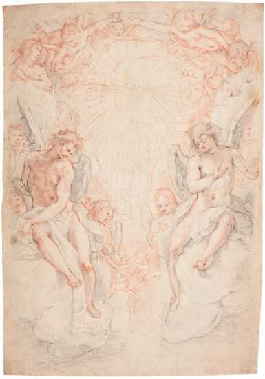 FEDERICO ZUCCARO | THE HOLY GHOST ENCIRCLED BY ANGELS