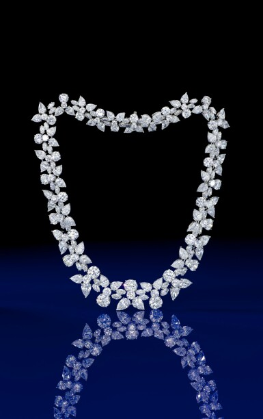 View 3. Thumbnail of Lot 1754. HARRY WINSTON   'HOLLY WREATH' DIAMOND NECKLACE   海瑞溫斯頓   'Holly Wreath' 鑽石項鏈 (鑽石共重約125.00卡拉).