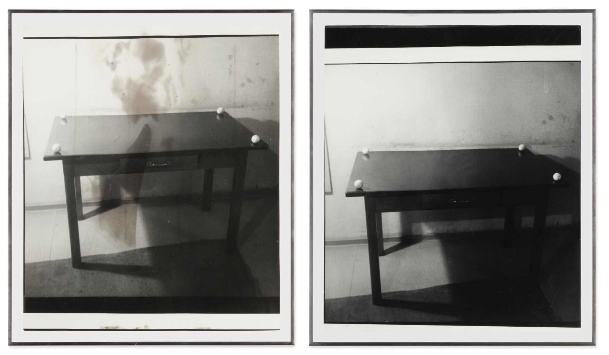 View full screen - View 1 of Lot 17. SIGMAR POLKE | UNTITLED (DIPTYCH).