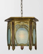 ATTRIBUTED TO HECTOR GUIMARD | LANTERN