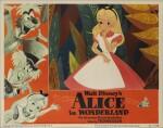 Alice in Wonderland (1951) lobby card, US