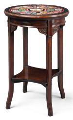 AN ITALIAN SPECIMEN MARBLE TABLE TOP, ROME CIRCA 1850