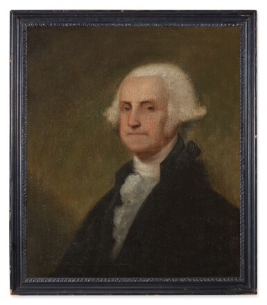 View 2. Thumbnail of Lot 38. Portrait of George Washington.