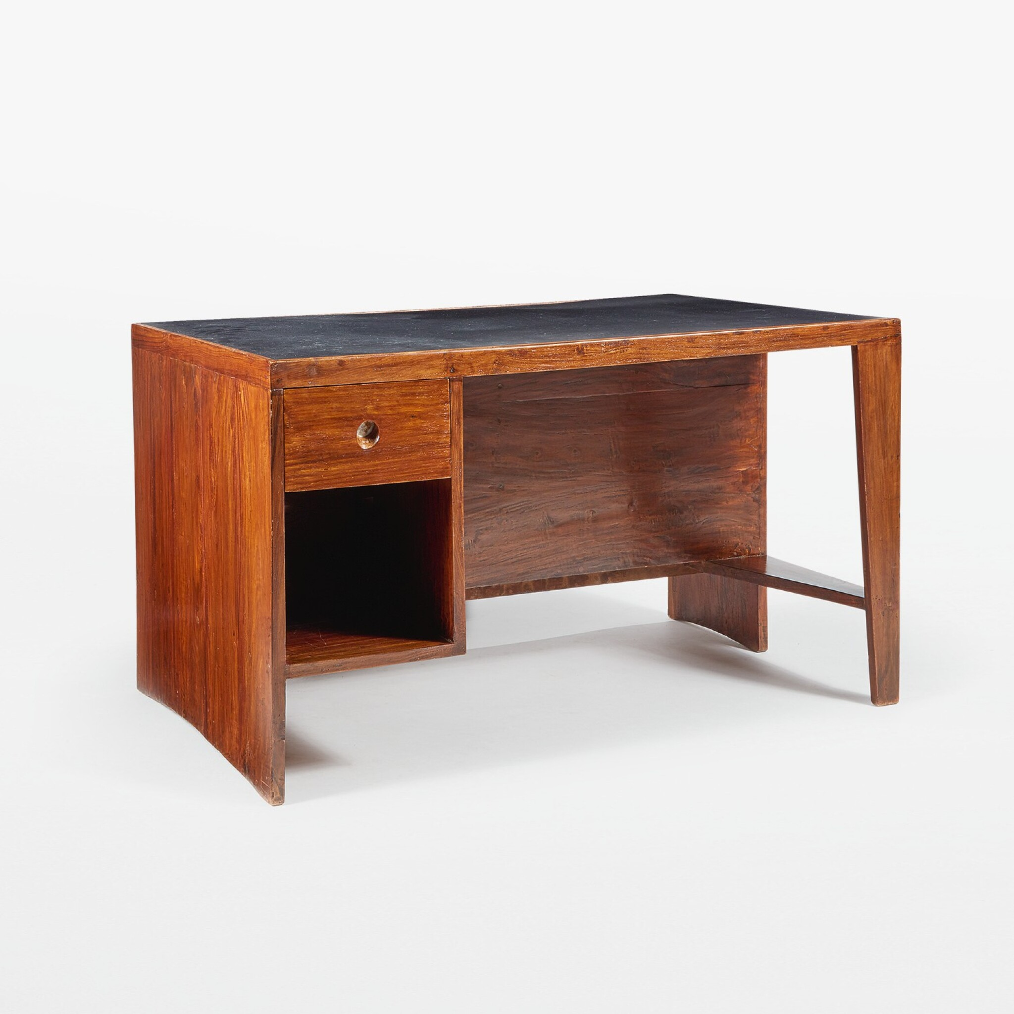 """View full screen - View 1 of Lot 84. """"Pigeonhole"""" or """"Office Table"""" Desk, Model No. PJ-BU-02-A."""