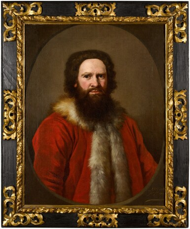 View 3. Thumbnail of Lot 68. ANDREA SOLDI  |  PORTRAIT OF A BEARDED GENTLEMAN IN TURKISH COSTUME, POSSIBLY A MERCHANT OF THE LEVANT.