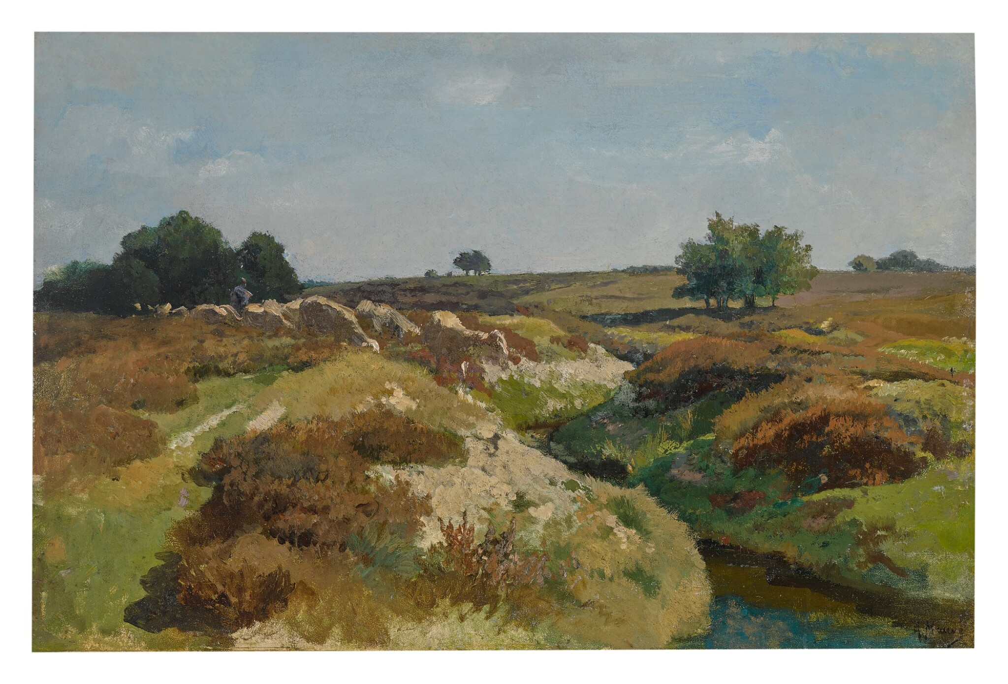 ANTON MAUVE  |  SHEEP ON THE DUNES