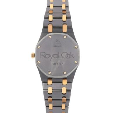 View 4. Thumbnail of Lot 521. Royal Oak, Ref. 14486TR Pink gold and tantalum wristwatch with date and bracelet Circa 1993 | 愛彼 14486TR型號「Royal Oak」粉紅金及鉭金屬鍊帶腕錶備日期顯示,年份約1993.