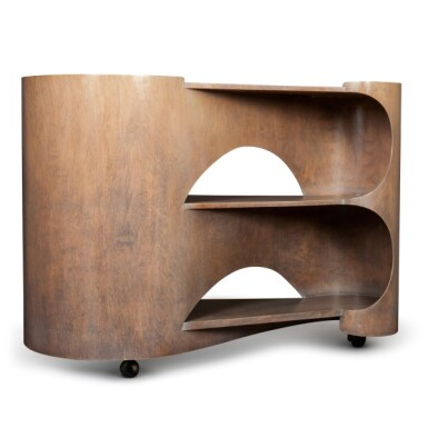 View 2. Thumbnail of Lot 92. Gerald Summers, 1899-1967   Isokon Trolley.