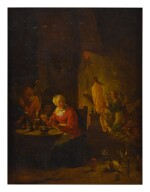 FOLLOWER OF DAVID TENIERS THE YOUNGER | WITCHES PREPARING FOR SABBATH