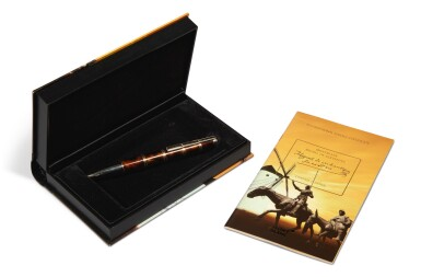 View 3. Thumbnail of Lot 78.  MONTBLANC | A LIMITED EDITION GOLD PLATED AND LACQUER BALLPOINT PEN, CIRCA 2005.