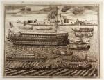 Coronelli | Bucintoro nella Solennità, che si celebra in Venetia nel giorgno dell'Ascensione, [c.1690]