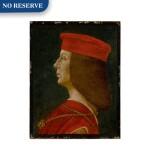 Profile portrait of a condottiero