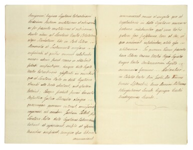 View 2. Thumbnail of Lot 48. GEORGE III | document signed, addressed to Lord High Chancellor Lord Eldon, 1802.