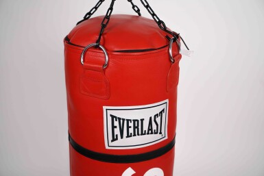 View 4. Thumbnail of Lot 2. SUPREME EVERLAST PUNCHING BAG.