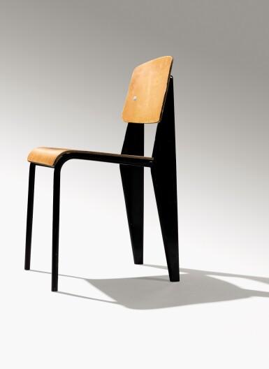 View 4. Thumbnail of Lot 7. Pair of Standard chairs, model no. 305, circa 1950.