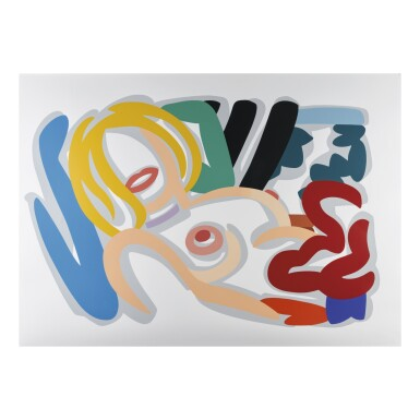 TOM WESSELMANN | BIG BLONDE WITH CHOKER