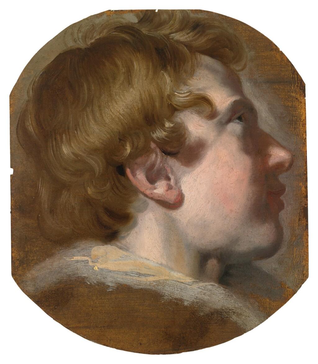 PIETER VAN MOL     STUDY OF A BOY'S HEAD