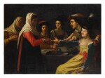 AFTER GERRIT VAN HONTHORST | THE FORTUNE TELLER