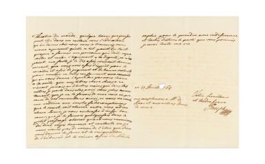 View 5. Thumbnail of Lot 8. JOSEPH II. Réunion de 19 LAS à sa sœur Marie-Caroline de Naples et de Sicile. 9 avril -17 novembre 1768. 32 p..