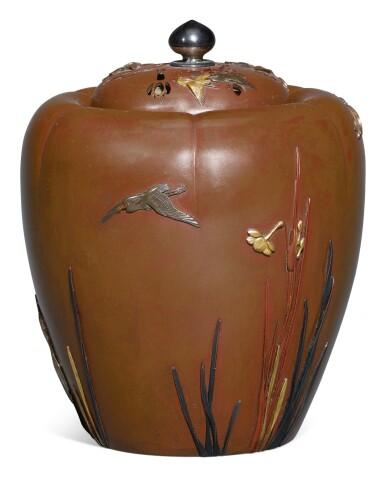 A BRONZE KORO [INCENSE BURNER], MEIJI PERIOD, LATE 19TH CENTURY