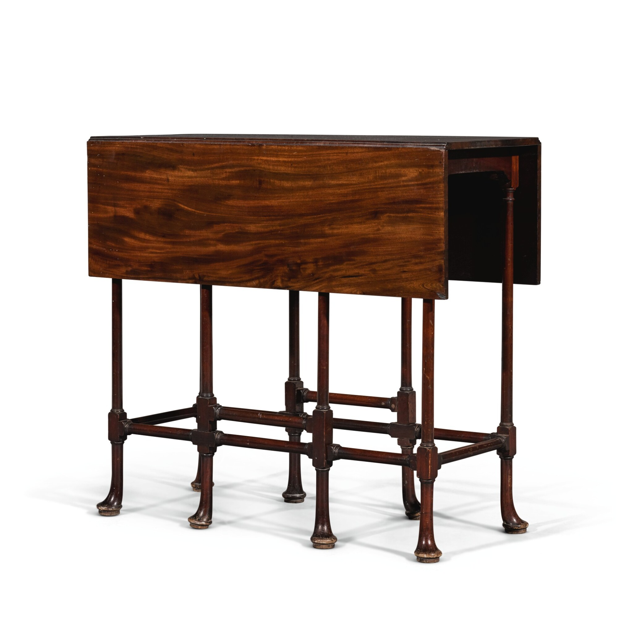 View full screen - View 1 of Lot 252. A George III mahogany spider-leg table by Thomas Chippendale, 1768.