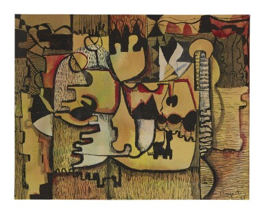 View 1. Thumbnail of Lot 464. WILLIAM BAZIOTES | UNTITLED.