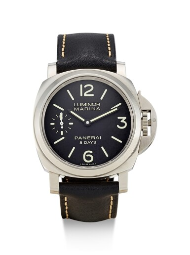 PANERAI | LUMINOR MARINA 8 DAYS ACCIAIO, REFERENCE PAM00510, A LIMITED EDITION STAINLESS STEEL WRISTWATCH WITH POWER RESERVE, CIRCA 2013