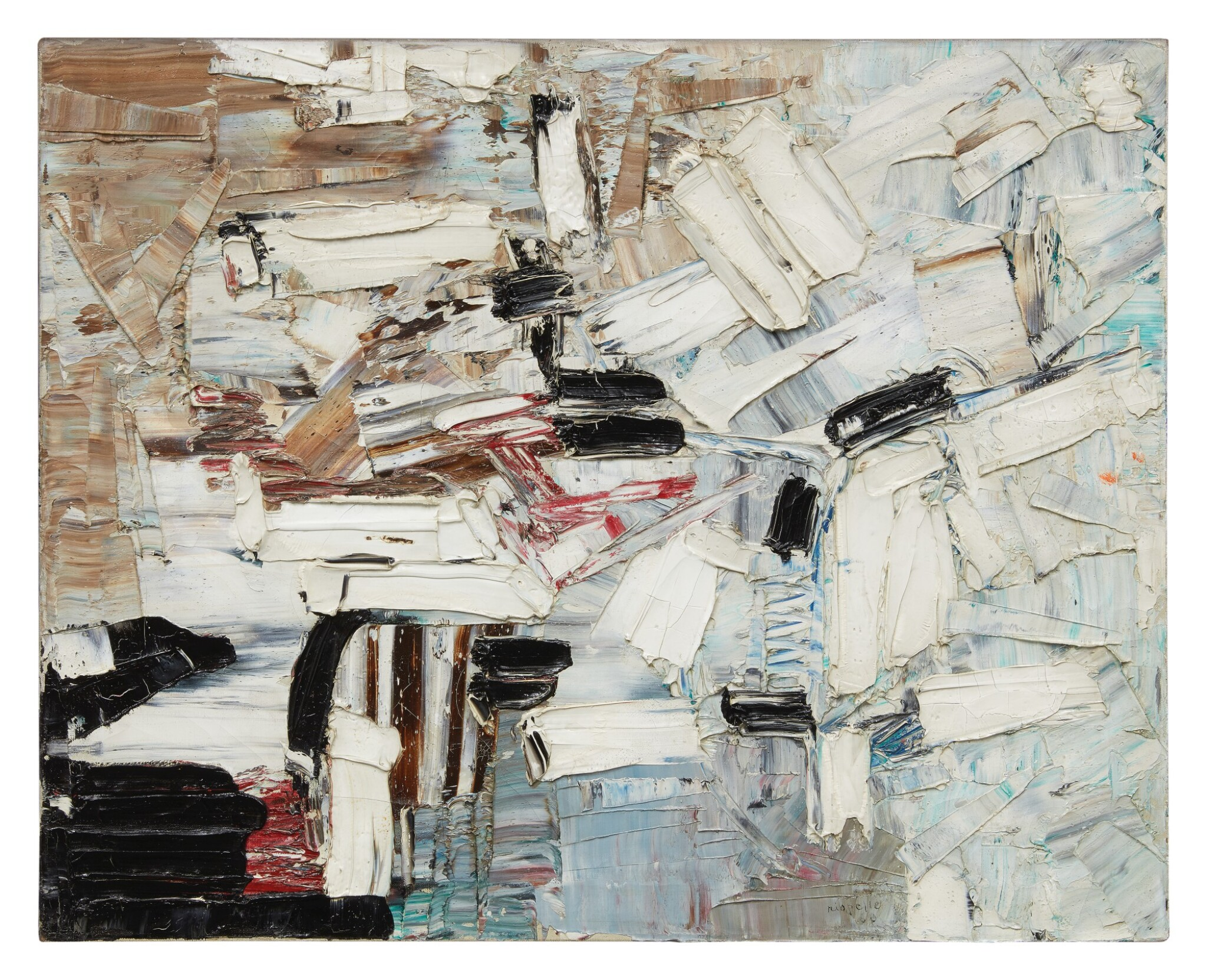 View full screen - View 1 of Lot 34. JEAN-PAUL RIOPELLE | UNTITLED.