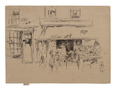 JAMES ABBOTT MCNEILL WHISTLER | EXETER STREET (K. 280; G. 274)