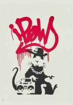 BANKSY | GANGSTA RAT
