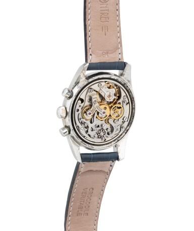 View 3. Thumbnail of Lot 22. Tri-Compax, Ref. 222100/2    Chronographe bracelet avec calendrier triple     Stainless steel chronograph wristwatch with triple calendar     Vers 1955      Circa 1955.