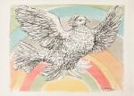 Colombe volant (à l'arc-en-ciel) (Bloch 712)