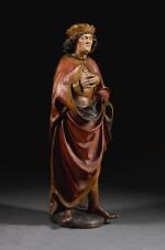 AUSTRIAN, TYROL, CIRCA 1480 | SAINTLY KING