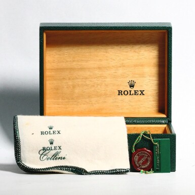 """View 5. Thumbnail of Lot 2. ROLEX 