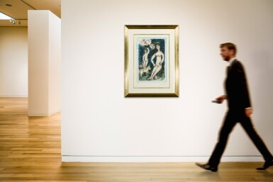 View 4. Thumbnail of Lot 62. MARC CHAGALL   THE BLUE NUDE (M. 1049).