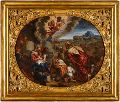View 3. Thumbnail of Lot 43. GIACOMO COTTA  |  THE ADORATION OF THE MAGI.